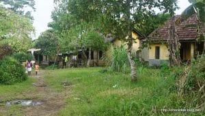 Le village...