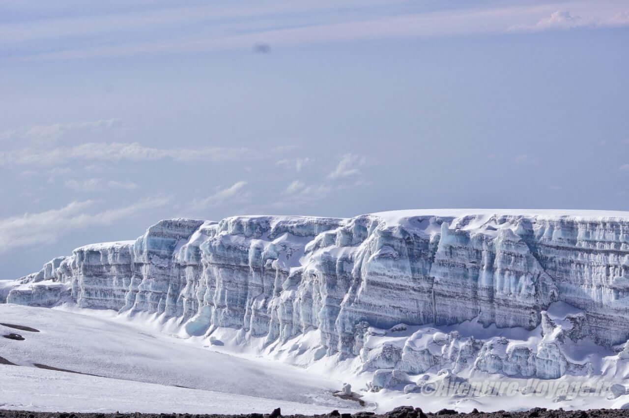 Neiges éternelles du Kilimanjaro...