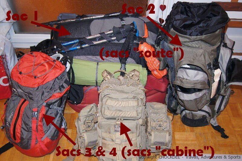 Nos sacs pour le Kilimandjaro – Tanzanie