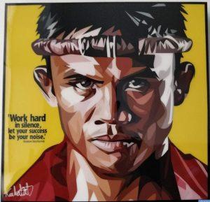 Buakaw Benchamek Poster